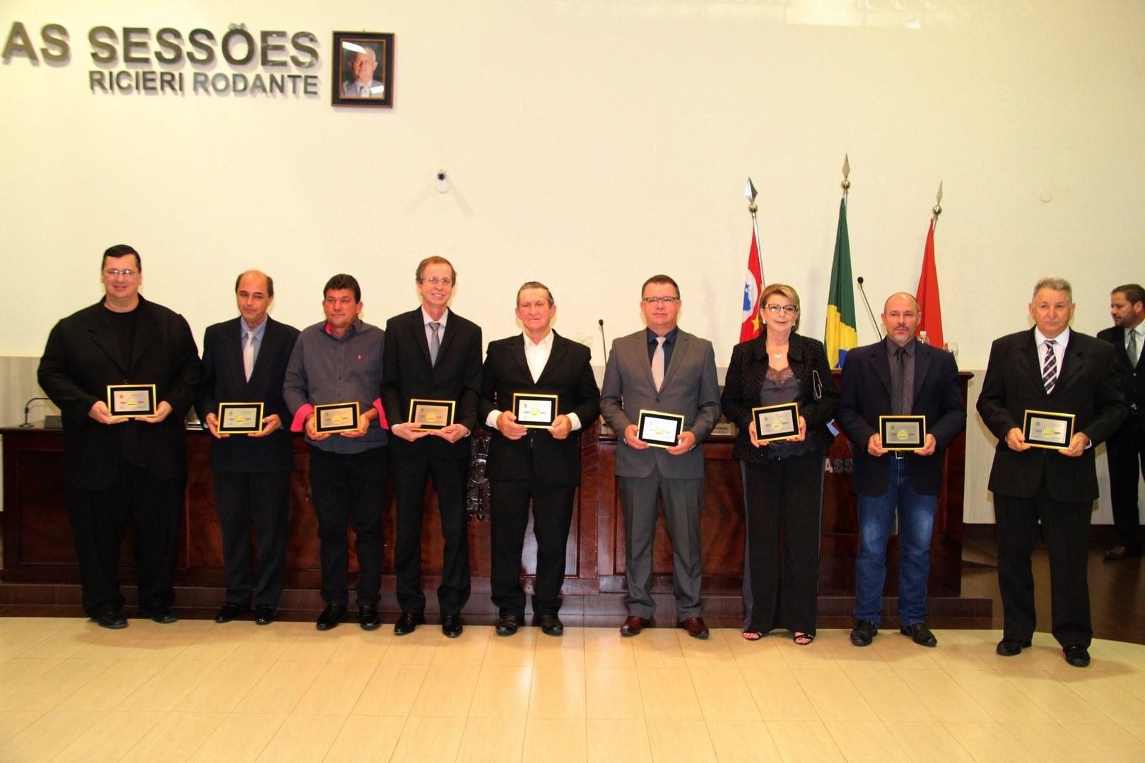 Vereadores de José Bonifácio entregam Medalha 24 de Junho