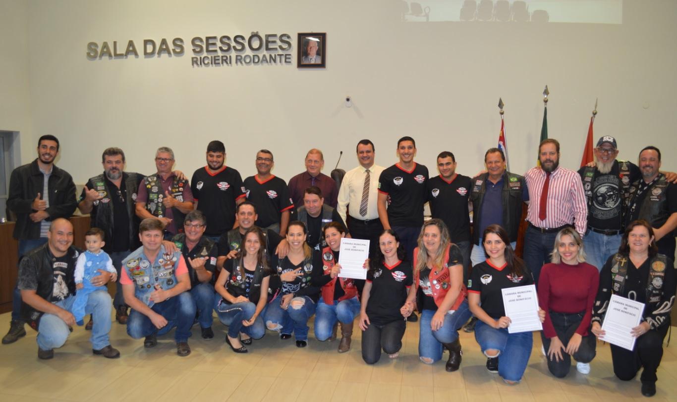 Vereadores aprovam projeto de lei criando o Dia do Motociclista em José Bonifácio