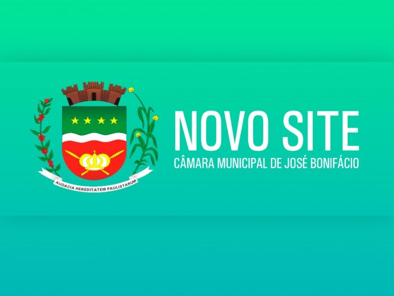 Site da Câmara de José Bonifácio Estará Totalmente Atualizado em Breve