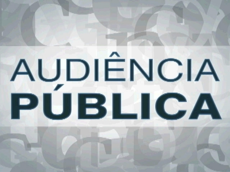 Convite para Audiência Pública dia 25 de abril de 2019 na Câmara de José Bonifácio