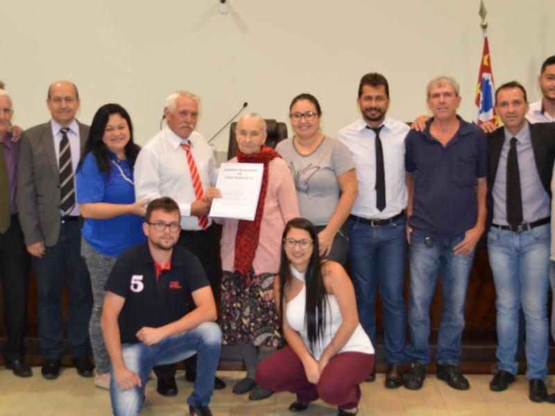 Vereadores aprovam projeto de lei que homenageia o senhor Israel Pereira Lima