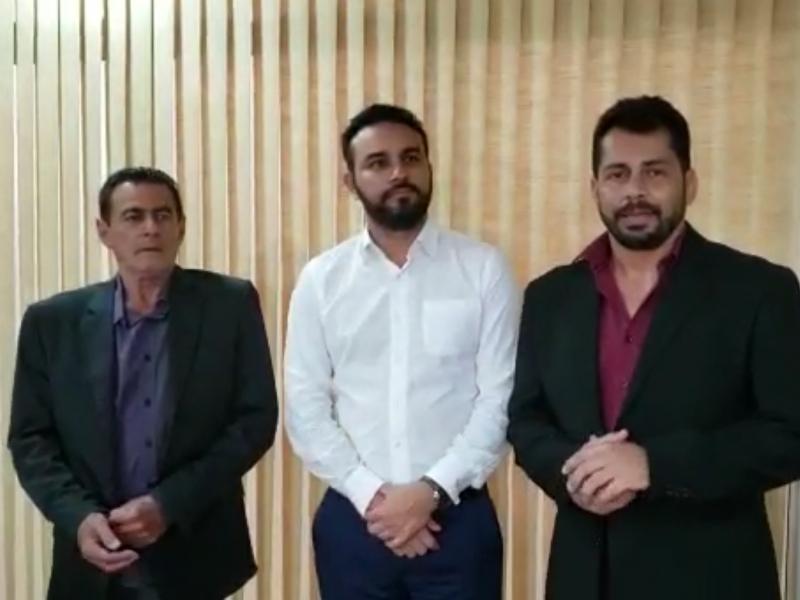 Vereadores Rafael Nizato e Hélio Zucareli pedem ajuda para a Santa Casa em SP
