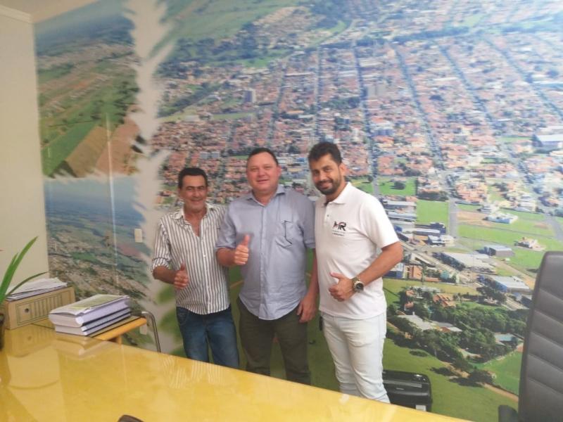 Assessor da Secretaria Estadual de Desenvolvimento visita a Câmara de José Bonifácio