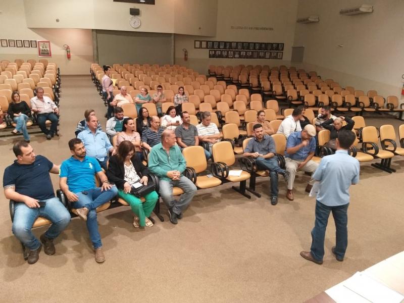 Audiência pública sobre o orçamento de 2020 reúne dezenas de pessoas na Câmara de José Bonifácio