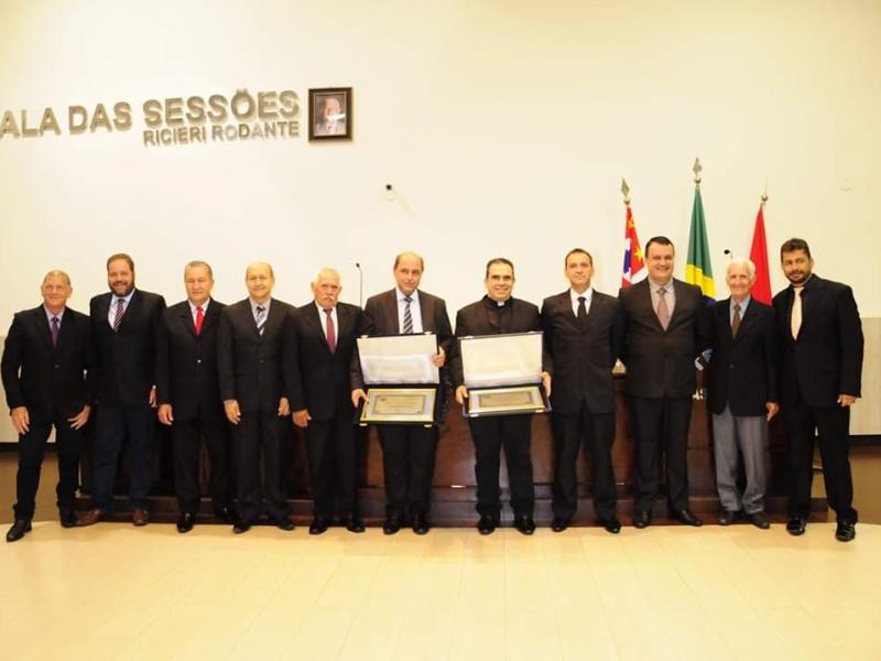 Câmara Municipal realiza Sessão Solene para entrega dos Títulos de Cidadão Bonifaciano