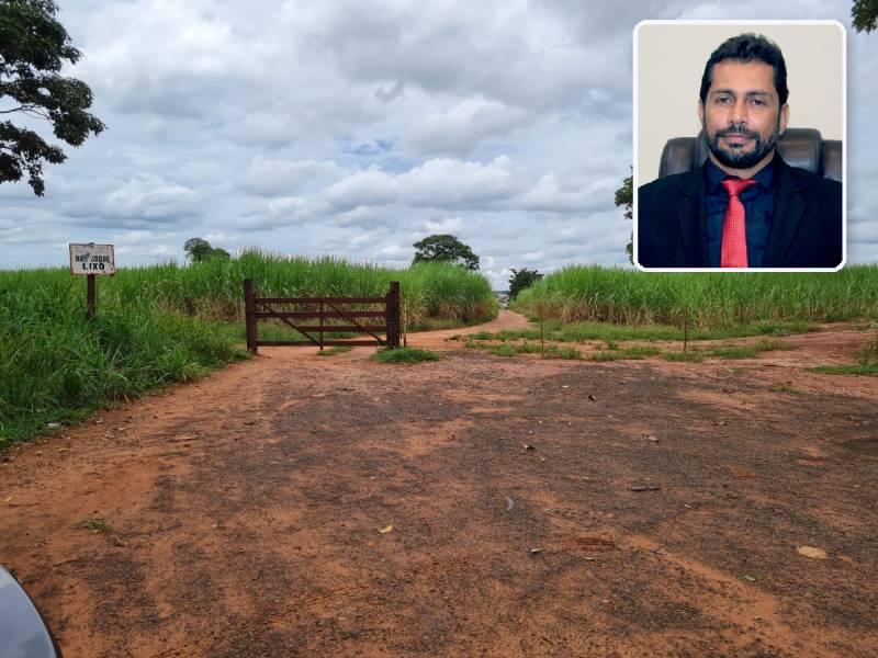 Vereador Rafael Nizato e demais vereadores pedem reabertura de estrada de terra municipal